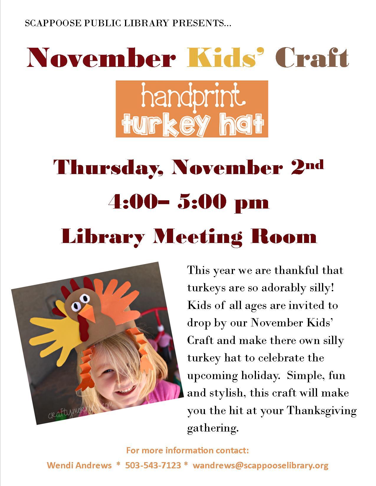 11.02.17 KIDS CRAFT- turkey hats.jpg