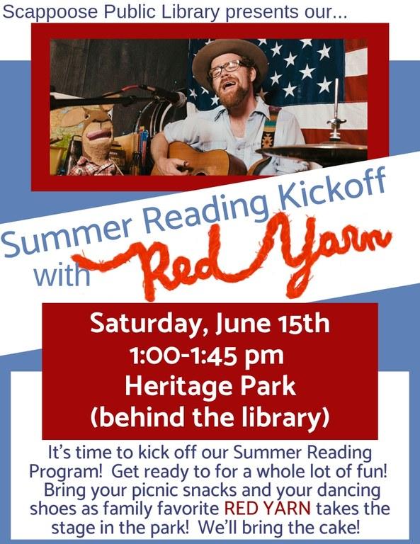 red yarn and summer reading kickoff.jpg